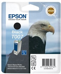 Inkcartridge Epson T007401 zwart