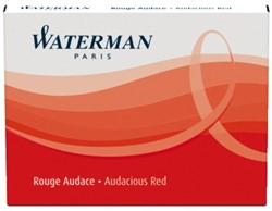 Inktpatroon Waterman internationaal rood