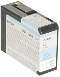Inkcartridge Epson T580500 lichtblauw