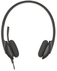 Headset Logitech H340 On Ear zwart