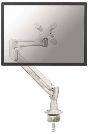 "Monitorarm Newstar D940 10-30"" met klem zilvergrijs"