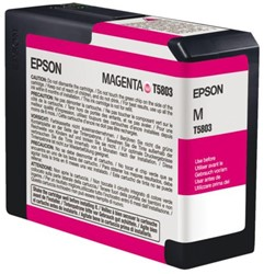 Inkcartridge Epson T580A00 rood