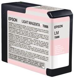 Inkcartridge Epson T580B00 lichtrood