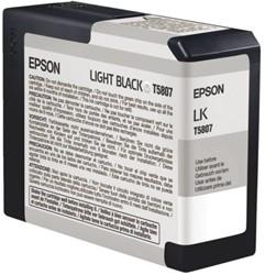 Inkcartridge Epson T580900 licht lichtzwart