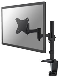 """monitorarm Newstar D1330 10-30"""" met klem zwart"""