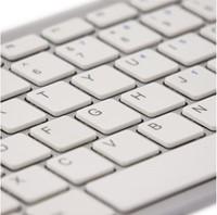 Ergonomisch toetsenbord R-Go Tools Compact Qwerty zilver-wit-2