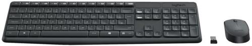 Toetsenbord Logitech MK235 Qwerty +muis zwart-2
