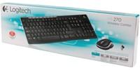 Toetsenbord Logitech MK270 Azerty +muis zwart-2