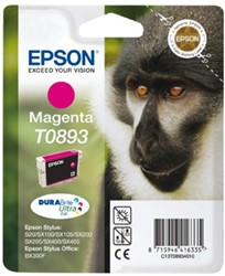 Inkcartridge Epson T0893 rood