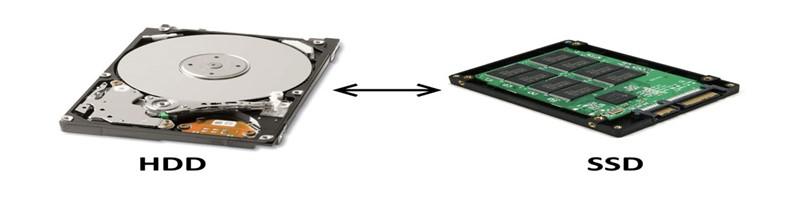 Het verschil tussen HDD SSD SSHD