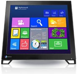 "Eizo FlexScan T1781 17"" 1280 x 1024Pixels Zwart touch screen-monitor"