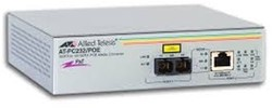 Allied Telesis AT-PC232/POE-50 100Mbit/s 1310nm Grijs netwerk media converter