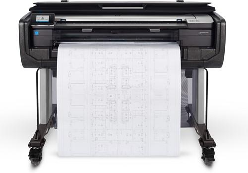 HP Designjet T830 36-in grootformaat-printer Kleur 2400 x 1200 DPI Thermische inkjet 914 x 1897 mm Wi-Fi