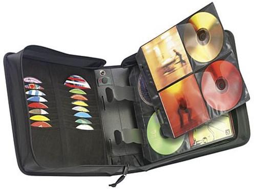 Case Logic CD Wallet Zwart-2